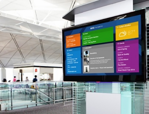 How Digital Signage Brings Customers Closer